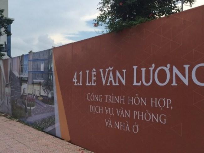 Điểm mặt dự án xây dựng chậm triển khai trên đường Lê Văn Lương