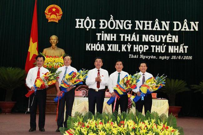 Nhiều lãnh đạo chủ chốt tỉnh Thái Nguyên tái đắc cử
