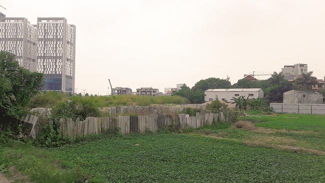 Dự án Ngoại giao đoàn tại quận Bắc Từ Liêm: Hơn 10 năm vẫn tắc
