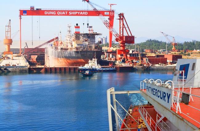 Ba kịch bản cho Nhà máy đóng tàu Dung Quất đang thua lỗ nghìn tỷ