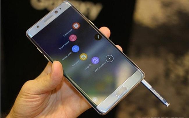 Đổi trả Note 7, Samsung Việt Nam xin miễn thuế