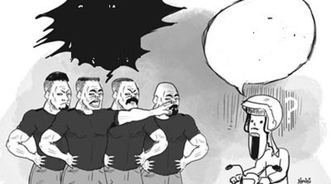 """Bộ Tài chính đề xuất cấm ăn mặc kiểu """"xã hội đen"""" khi hành nghề đòi nợ thuê"""