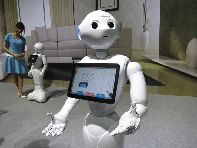 FPT sử dụng người máy để thay lễ tân tại Nhật Bản
