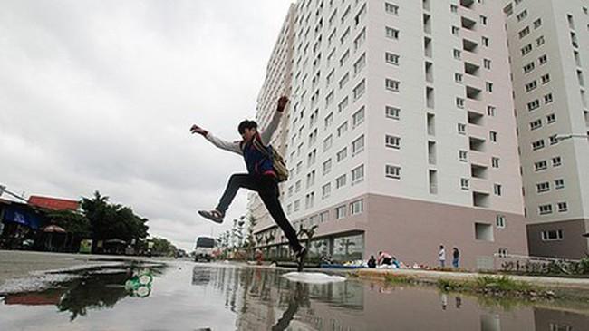 TPHCM: Mưa là ngập 'ám' bất động sản