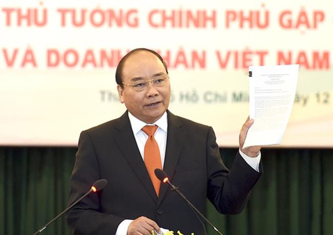 Thủ tướng lắng nghe hiến kế của doanh nghiệp, chuyên gia kiều bào