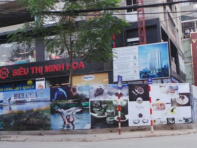Cao ốc chưa xây xong đã cho thuê 'tùm lum' ở Thái Hà