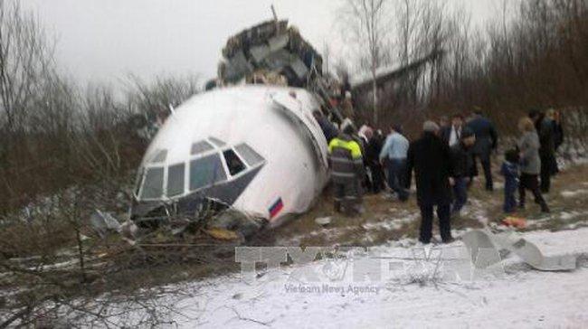 Nga tổ chức quốc tang sau vụ tai nạn máy bay quân sự