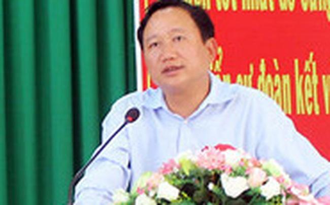 Ông Trịnh Xuân Thanh gửi đơn xin ra khỏi Đảng