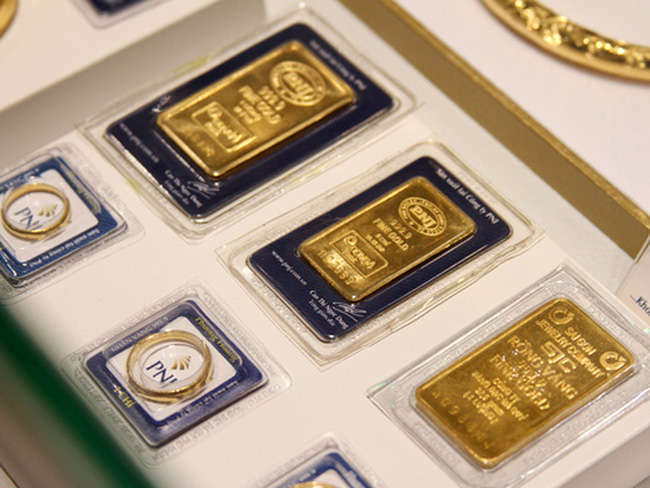 Giá vàng có phiên tăng thứ hai liên tiếp