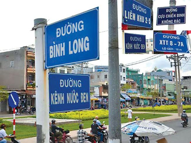 TP Hồ Chí Minh có thêm 3 tên đường mới