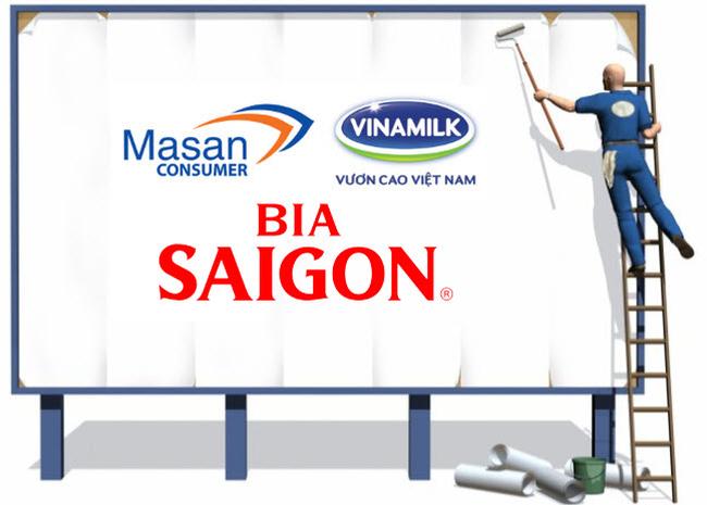 """Chi phí giữ thị phần ngày càng đắt đỏ, Vinamilk, Sabeco, Masan đang """"ném"""" hàng nghìn tỷ đồng vào quảng cáo"""
