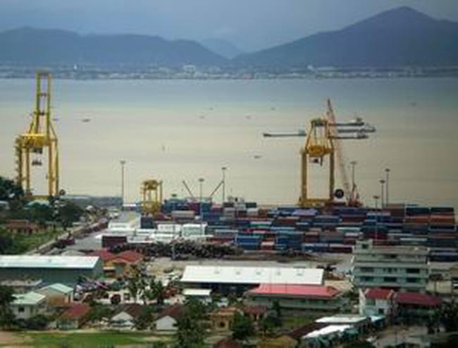 Xây tuyến luồng vào Khu bến cảng Thọ Quang - Đà Nẵng