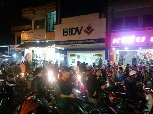 Manh mối về tên cướp ngân hàng BIDV qua camera an ninh
