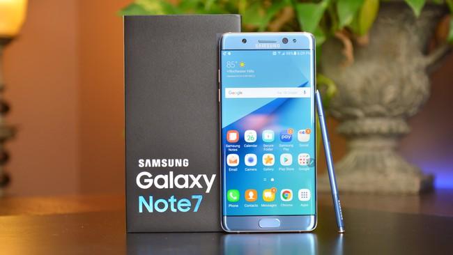 Đã thu hồi gần hết Samsung Galaxy Note 7 tại Việt Nam