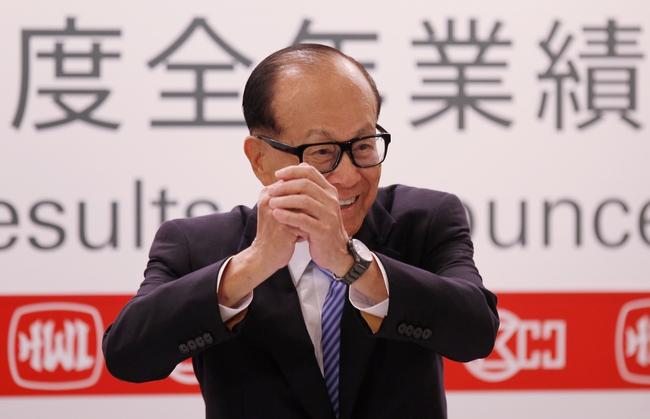 """""""Soi"""" đế chế khổng lồ vươn vòi đến toàn cầu của tỷ phú giàu nhất Hồng Kông Lý Gia Thành"""