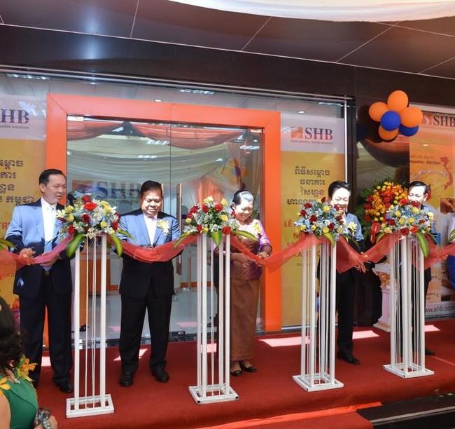 SHB chính thức có ngân hàng 100% vốn tại Campuchia