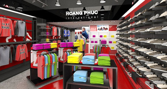 Nhân viên cửa hàng chuỗi thời trang Hoàng Phúc: Mỗi ngày shop chúng tôi kiếm được khoảng vài chục triệu đến cả trăm triệu
