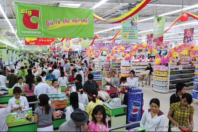 Lãnh đạo Big C khẳng định 95% hàng hóa ở Big C là hàng Việt và sẽ tiếp tục theo đuổi chiến lược này