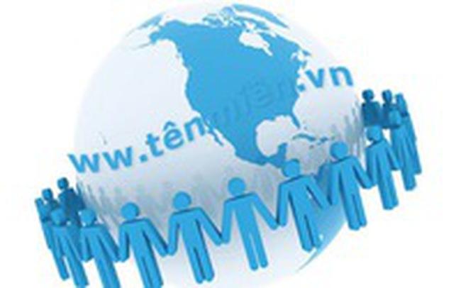 Sẽ tiến hành thu phí tên miền tiếng Việt từ 1/1/2017