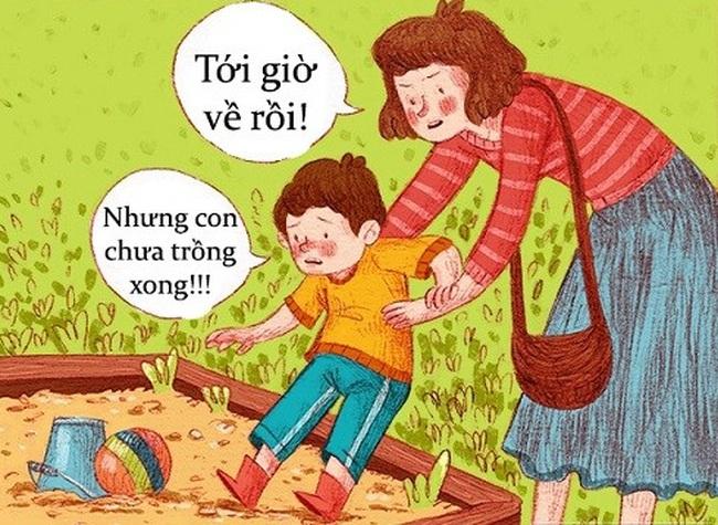 Bố mẹ Việt Nam đừng cố nuôi con hoàn hảo, hãy học cách thức dạy con này của người Đức