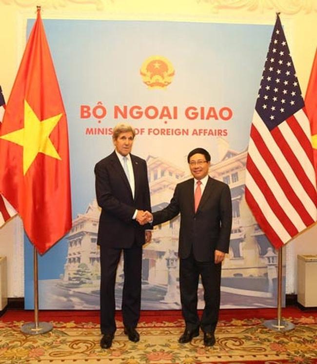 Việt - Mỹ đẩy mạnh hợp tác trong 7 lĩnh vực