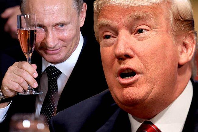 """Putin gửi bức thư """"nồng ấm"""" cho Donald Trump chúc mừng Giáng sinh"""