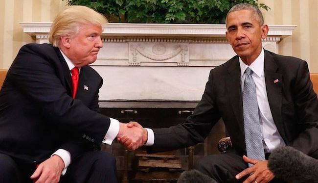 Khẩu chiến Trump – Obama: Ông chủ Nhà Trắng xuống nước
