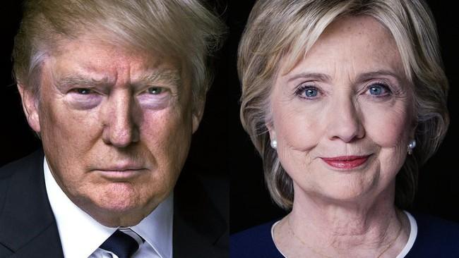 Bà Hillary Clinton lần đầu dẫn trước Donald Trump 2 con số