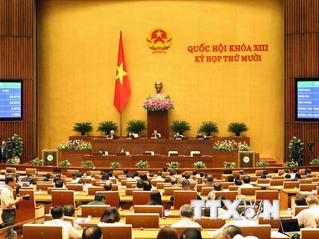 Ngày mai, khai mạc kỳ họp cuối cùng của Quốc hội khóa XIII