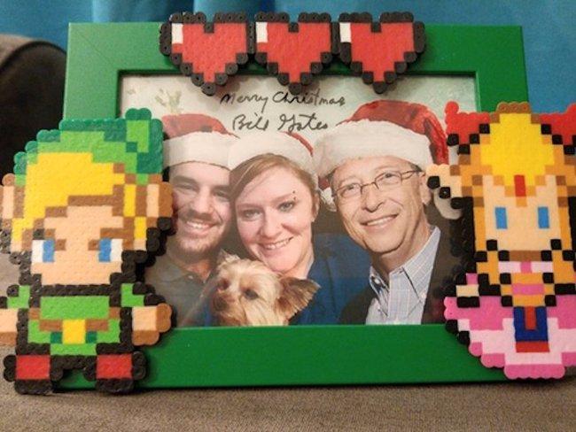 """Ghen tị với cô gái may mắn nhất năm được """"ông già Noel"""" Bill Gates tặng loạt quà ấn tượng"""