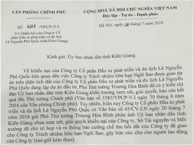 Vụ cưỡng chế đất tại Phú Quốc: Thanh tra Bộ Tài nguyên và Môi trường tiếp tục vào cuộc