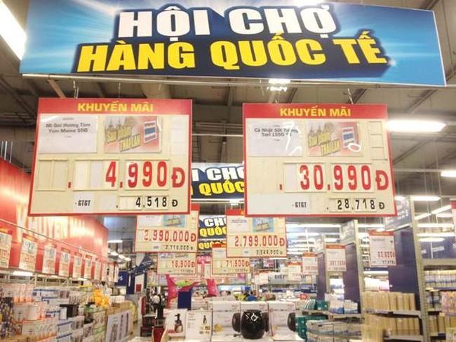 3,2 triệu tỷ đồng doanh thu từ dịch vụ tiêu dùng và hàng hóa bán lẻ