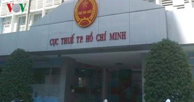 Thanh tra Chính phủ kiến nghị xử lý sai phạm tại Cục Thuế TP HCM