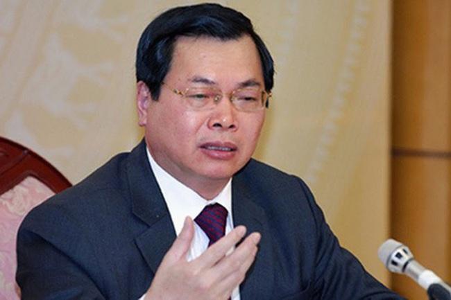 Bộ trưởng Công Thương nói về việc kỷ luật ông Vũ Huy Hoàng