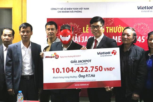 Vietlott đã trao giải Jackpot hơn 10 tỷ đồng tại Quảng Ninh