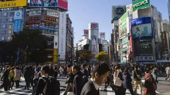 Dân số Nhật giảm kỷ lục trong năm 2017