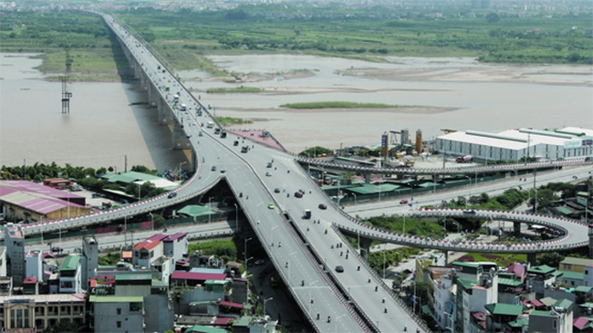 Hà Nội: Hơn 2.500 tỷ đồng xây cầu Vĩnh Tuy giai đoạn 2