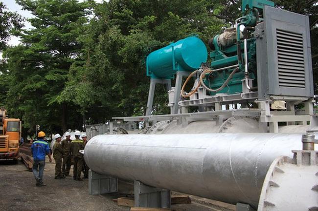 Siêu máy bơm chống ngập ở TP.HCM hoạt động thế nào?