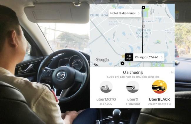 Hà Nội yêu cầu Uber, Grab phải báo cáo số lượng xe
