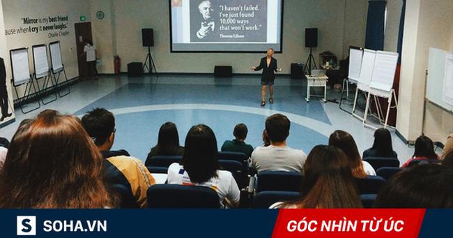 Khi chê GS mặc sooc giảng bài, hãy nhớ số công trình của ông ấy = 50-100 GS Việt Nam cộng lại
