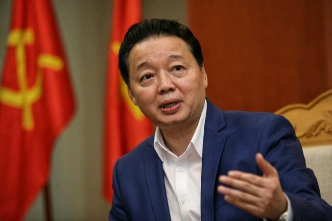 Bộ trưởng Trần Hồng Hà yêu cầu không tổ chức tặng quà dịp Tết 2017