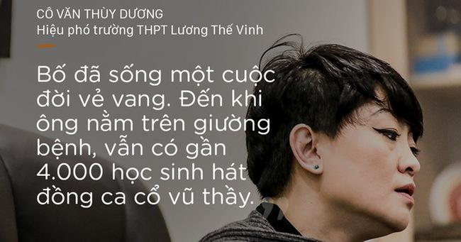 """Thầy Văn Như Cương qua lời kể xúc động của con gái: """"Bố đã sống một đời vẻ vang"""""""