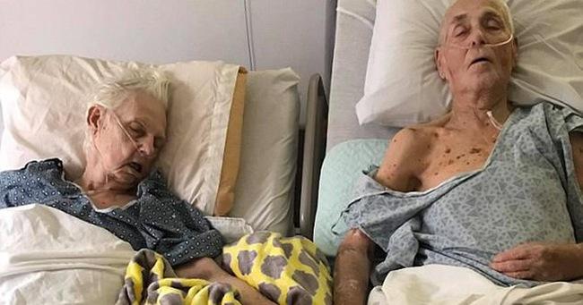 Cụ ông 84 nắm tay cụ bà 82 và cùng qua đời - chuyện tình hiếm thấy không phải trên phim