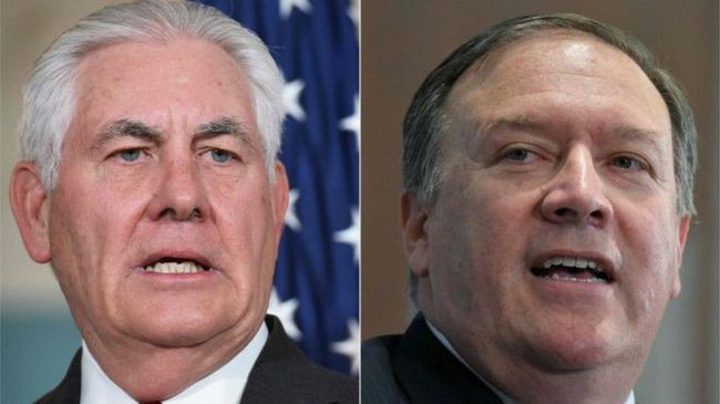 Nhà Trắng chính thức lên tiếng về thông tin Ngoại trưởng Rex Tillerson bị thay thế