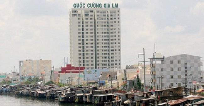 Quốc Cường Gia Lai (QCG) báo lãi chưa đến 2,5 tỷ đồng trong quý 1/2017, vay nợ ngắn hạn giảm mạnh