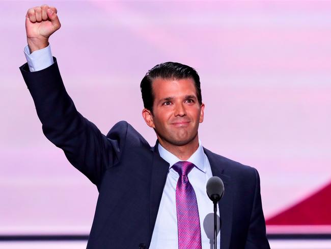 Con trai Tổng thống Trump từ chối nhận sự bảo vệ của Mật vụ Mỹ