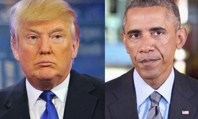 Chuyện 'sáng nắng chiều mưa' giữa Donald Trump và Barack Obama