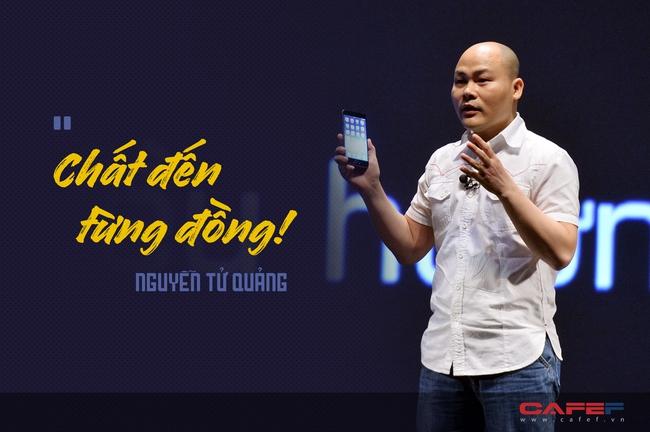 """Ra mắt Bphone 2, Nguyễn Tử Quảng: """"Chúng tôi chưa lường hết lại có quá nhiều khó khăn đến như vậy, nhưng hôm nay tôi đã ở đây!"""""""