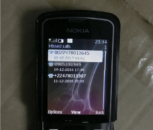 Tái diễn tình trạng điện thoại lừa đảo có đầu số quốc tế