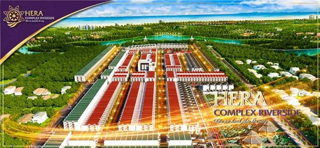 Nhất Nam Land ra mắt dự án mới - Hera Complex Riverside